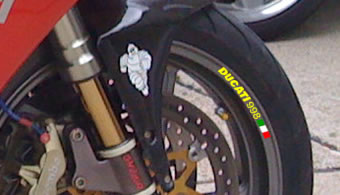 Ducati 998 Rim Decal set